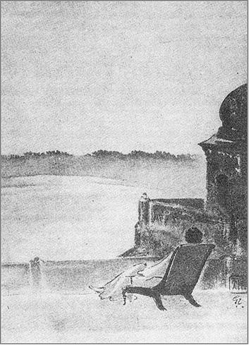 Ravindranath Tagore Sketch, Kshudhit Pashan
